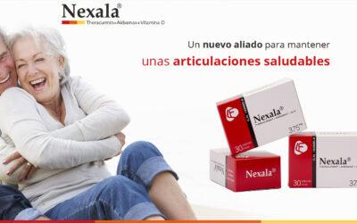 Presentamos nuestro nuevo producto Nexala®, una novedad de interés en trastornos articulares